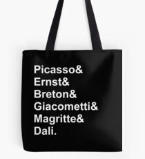 Modern Artists, Surrealists Tote Bag