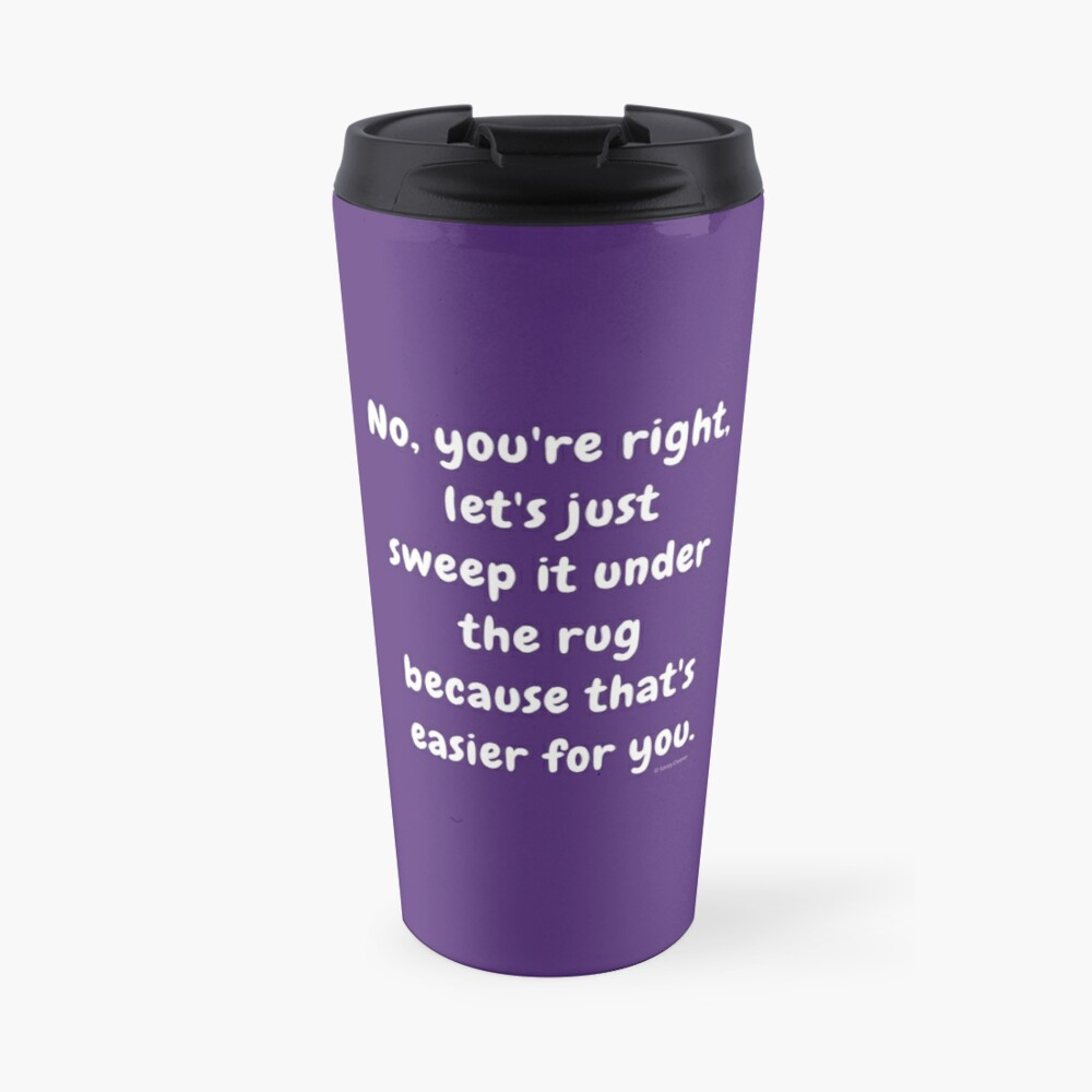 Under the Rug Fun Cleaning Crew Housekeeper Cleaning Lady Gifts Travel Mug