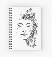 Flowers in Your Hair Spiral Notebook