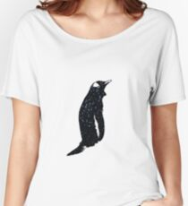 Space Penguin Women's Relaxed Fit T-Shirt