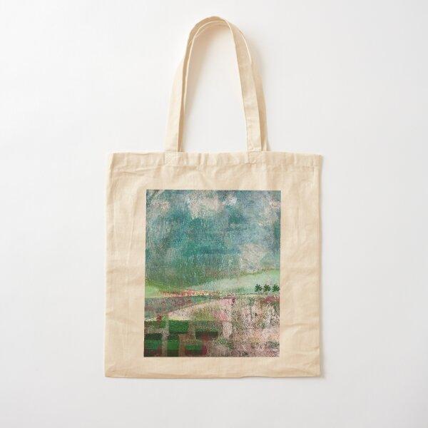 Landscape art print: abstract Cotton Tote Bag