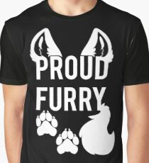 PROUD FURRY Graphic T-Shirt