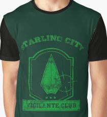Starling City Vigilante Club 2 Graphic T-Shirt