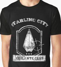 Starling City Vigilante Club Graphic T-Shirt
