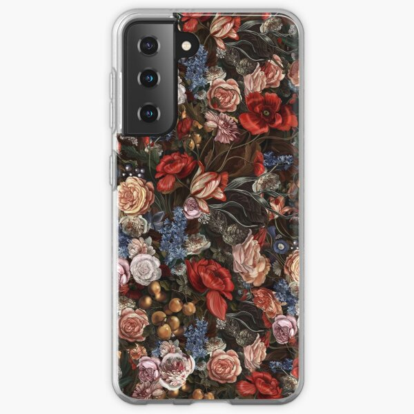 Vintage Floral Romance Samsung Galaxy Soft Case