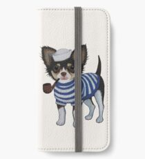 Sailor Chihuahua iPhone Wallet/Case/Skin