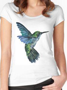 Nature Hummingbird Women's Fitted Scoop T-Shirt