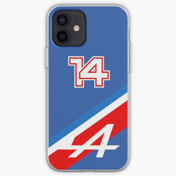 Fernando Alonso 14 Tricolore - Alpine F1 2021 Coque souple iPhone