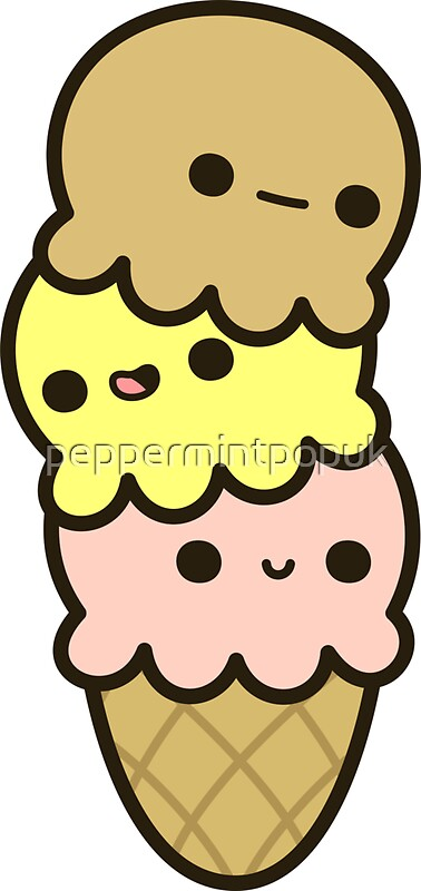 Quot Cute Ice Cream Quot Stickers By Peppermintpopuk Redbubble