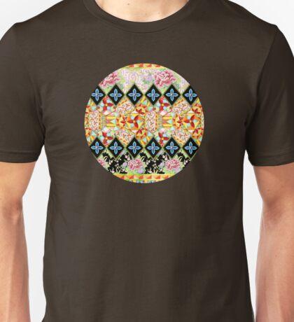 Folkloric Crazy Quilt Boho T-Shirt