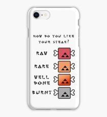 Monster Hunter STEAK iPhone Case/Skin