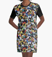 Lego Everywhere Graphic T-Shirt Dress