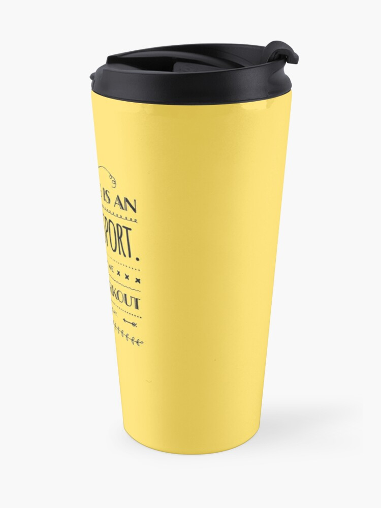 Alternate view of Cleaning is an Extreme Sport Fun Workout Housekeeping Humor Travel Mug