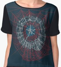 Spider America Chiffon Top