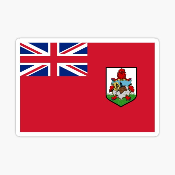 Bermuda Flag Sticker