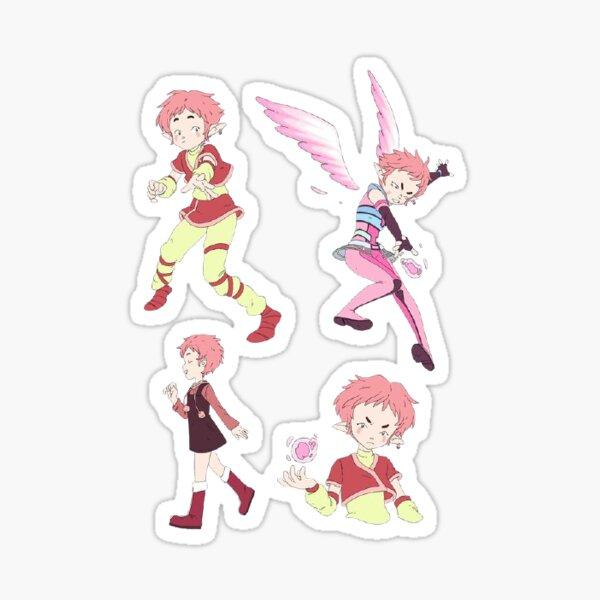 Pack d'autocollants Aelita Code Lyoko Sticker