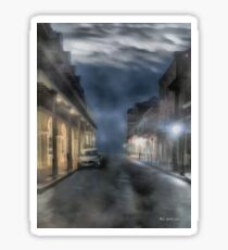 Rue Brumeuse Sticker