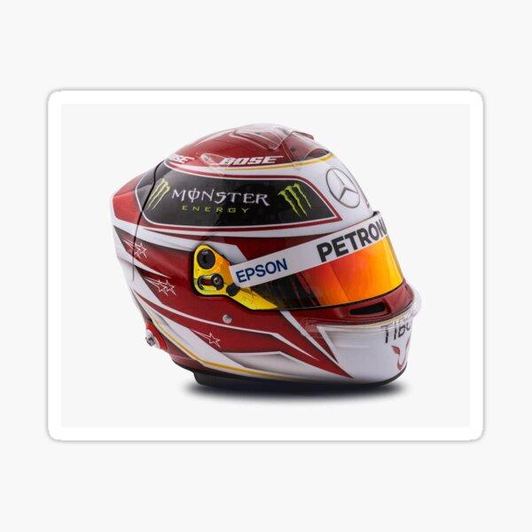 Casque Lewis Hamilton F1 Mercedes AMG Petronas Sticker