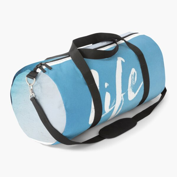 Beach and blue sky, Ocean  Duffle Bag