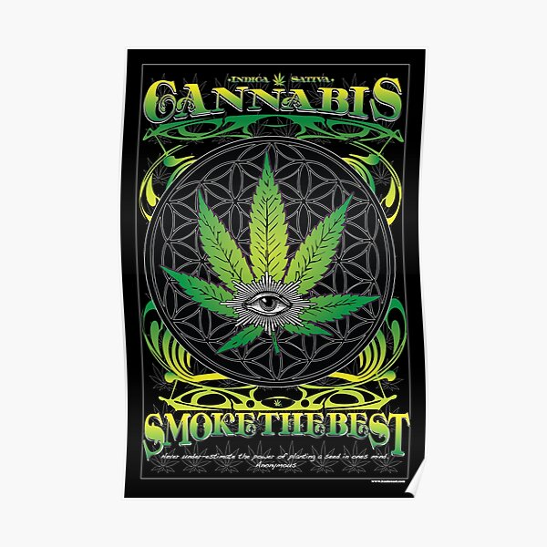 Cannabis, Fumez le meilleur Poster