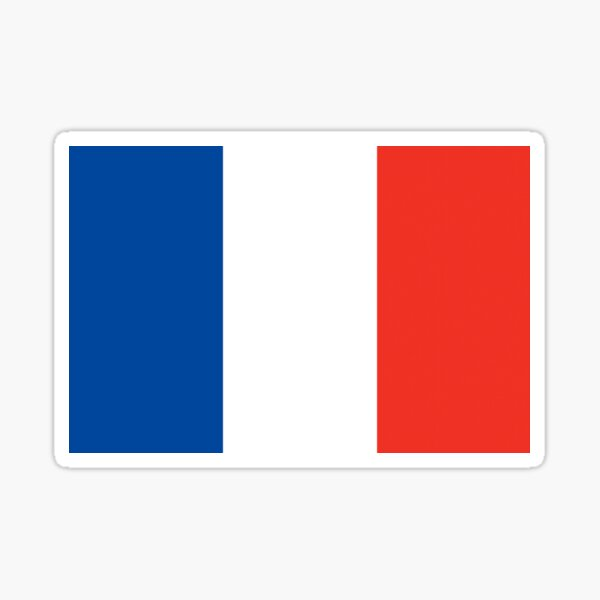 Saint Pierre and Miquelon Flag Sticker