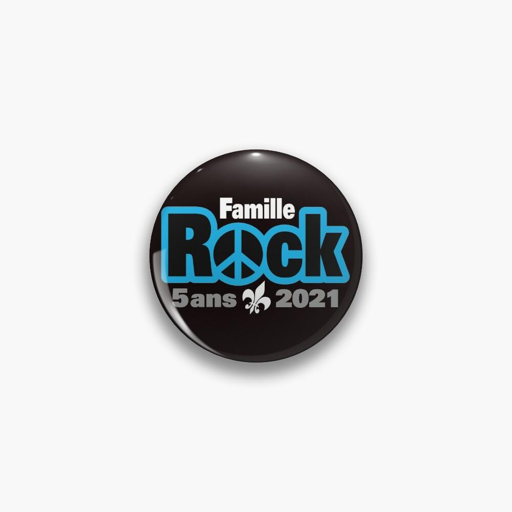 Badge «Famille Rock Édition 5ans»