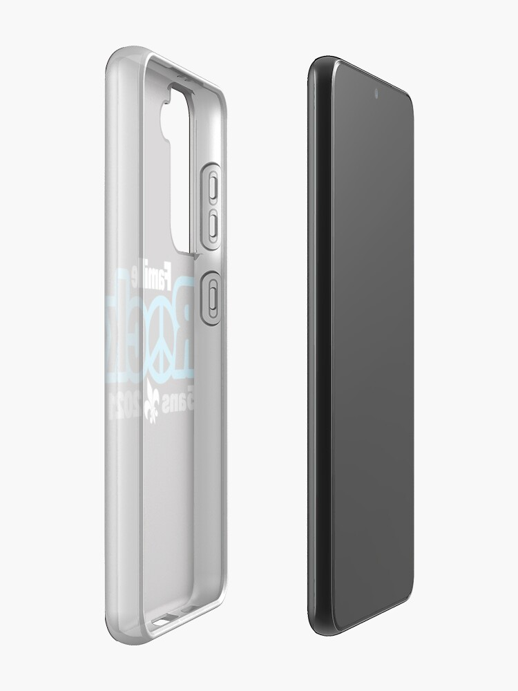 Coque et skin adhésive Samsung Galaxy ''Famille Rock Édition 5ans': autre vue