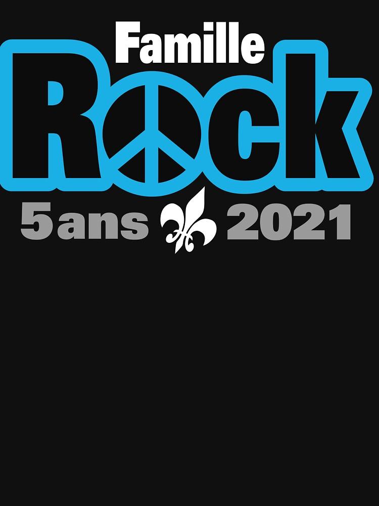 «Famille Rock Édition 5ans» par Ggiguere9