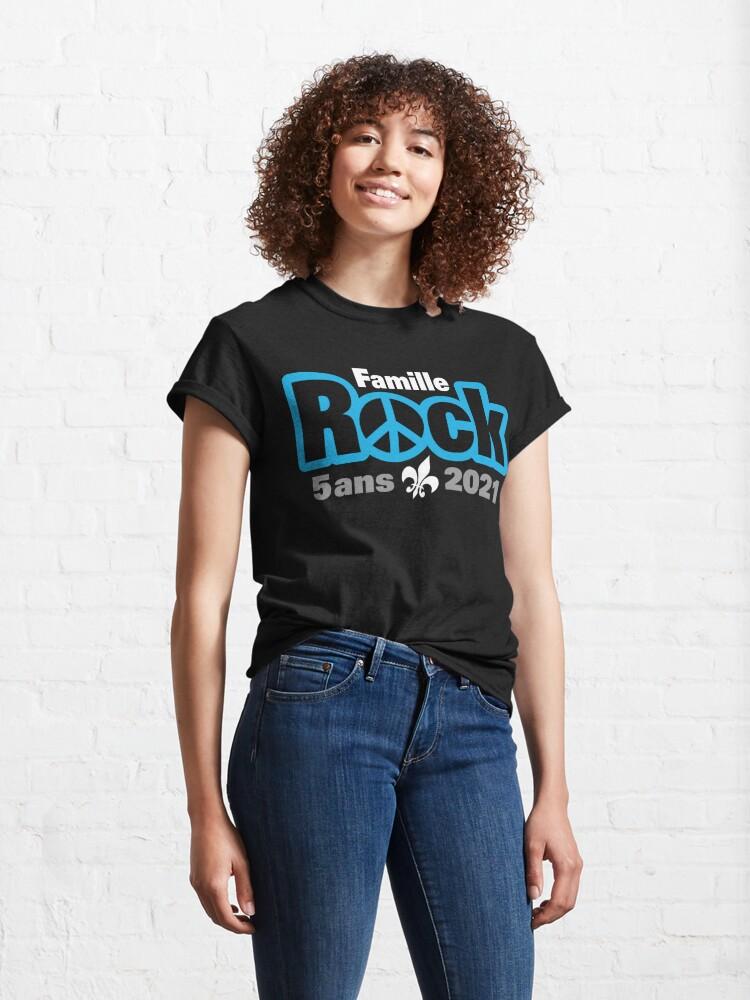 T-shirt classique ''Famille Rock Édition 5ans': autre vue