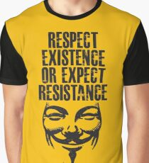 Resistance. Graphic T-Shirt