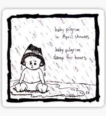 Baby Pilgrim April Showers Sticker