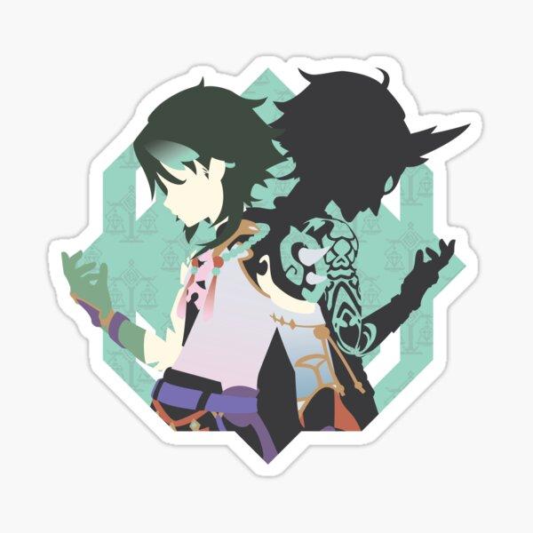 Genshin Impact Xiao Minimalism Sticker