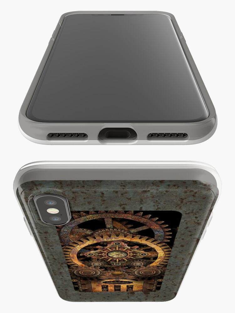 Alternate view of Infernal Vintage Steampunk Machine #2 Phone Cases iPhone Cases & Covers
