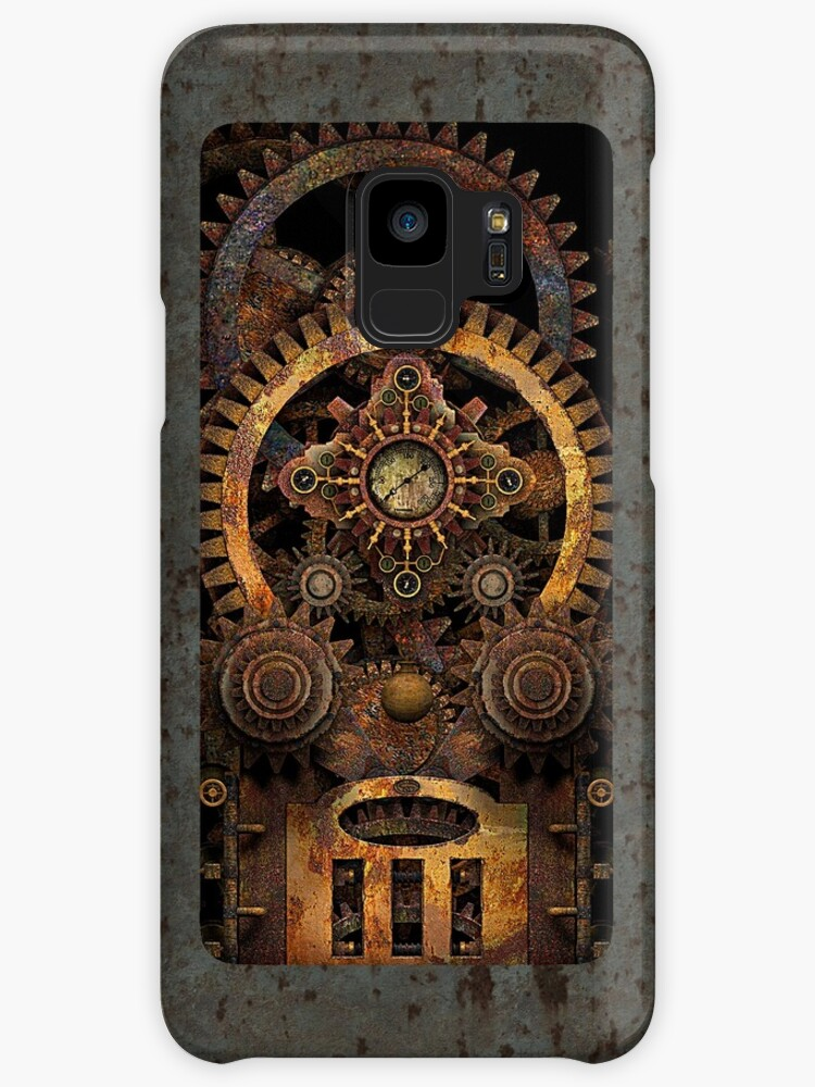 Infernal Vintage Steampunk Machine #2 Phone Cases by Steve Crompton