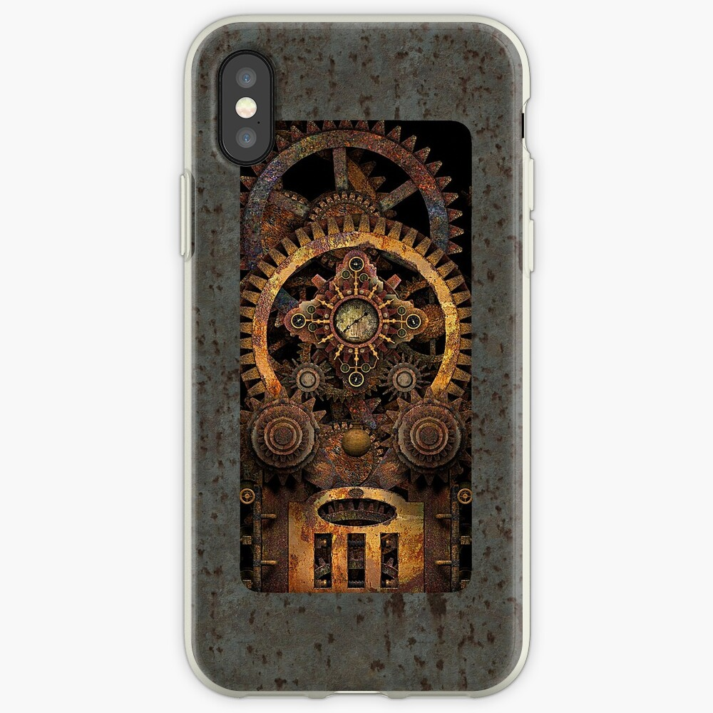 Infernal Vintage Steampunk Machine #2 Phone Cases iPhone Case & Cover