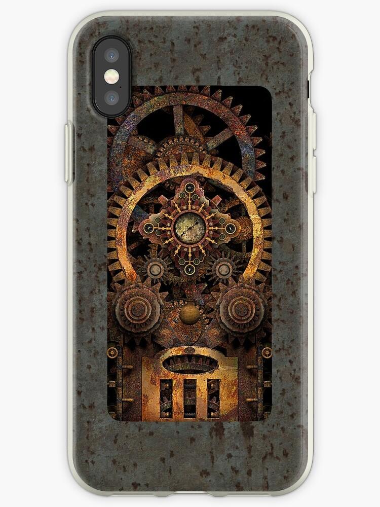 Infernal Vintage Steampunk Machine #2 Phone Cases by Steve Crompton