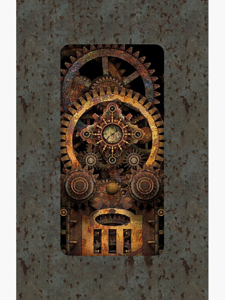 Infernal Vintage Steampunk Machine #2 Phone Cases by SC001
