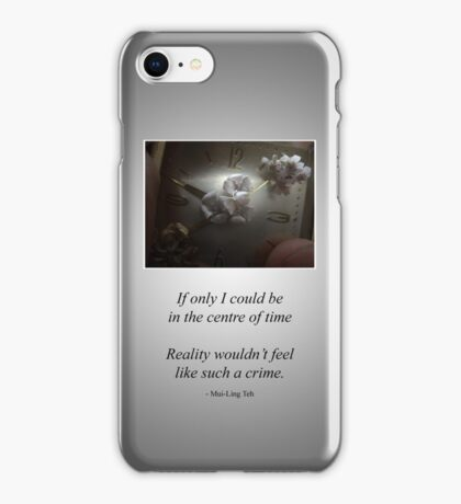 The Blooming, the Withering, and the Everlasting iPhone Case/Skin