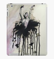 Ink and paper butterflies iPad Case/Skin