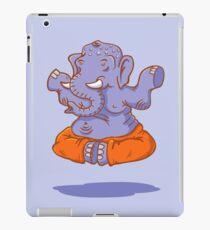 Elephant yoga iPad Case/Skin