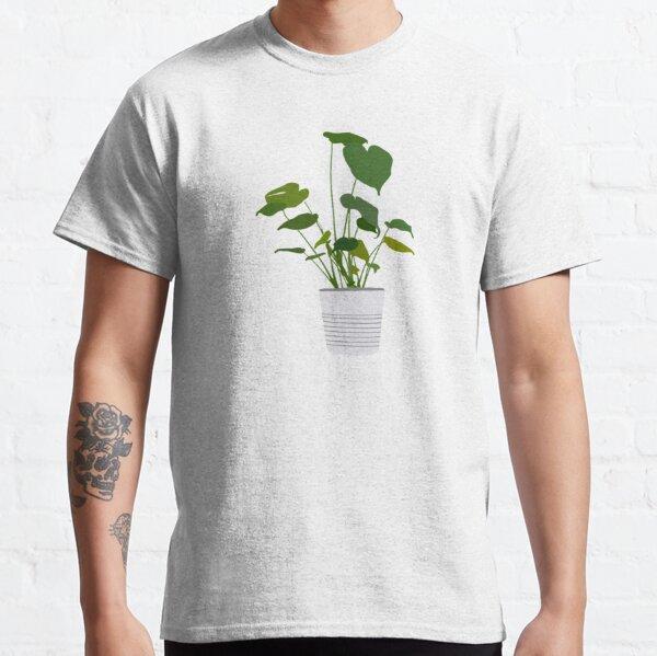 Monstera plant in white pot Classic T-Shirt