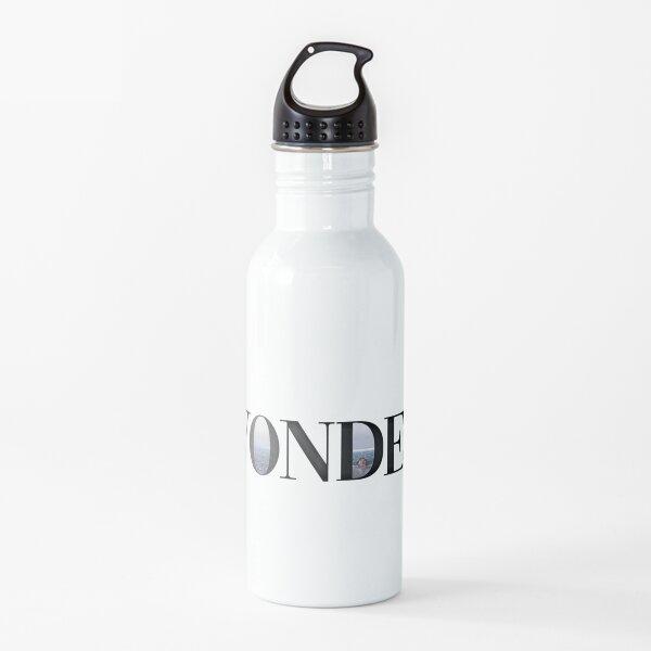shawn mendes wonder sticker Water Bottle