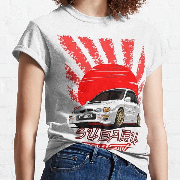 Impreza 22B WRX STI - R.I.P. EVO (White) Classic T-Shirt