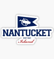Nantucket Island - Massachusetts. Sticker