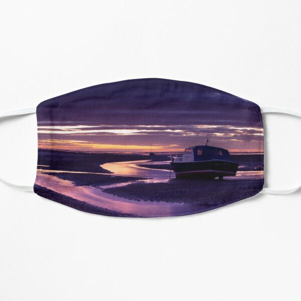 Meols Shore Sunset Streams Flat Mask