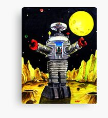 B-9 ROBOT LOST IN SPACE Canvas Print