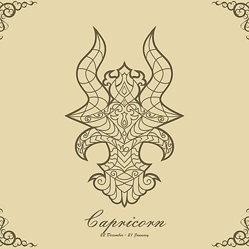 Capricorn gold by elangkarosingo