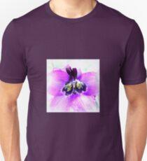 Delphinium Closeup Unisex T-Shirt