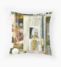 Angels in Odd Spots Throw Pillow