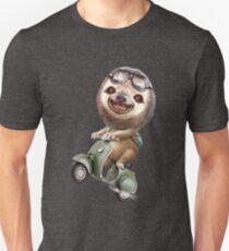 RUNAWAY SLOTH Unisex T-Shirt